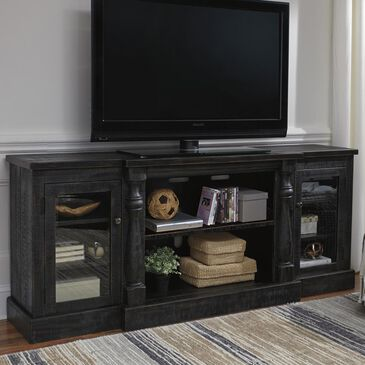 "Signature Design by Ashley Mallacar 75"" TV Stand in Black, , large"