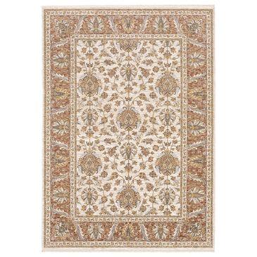 """Oriental Weavers Maharaja Dakota 5091Q 9""""10"""" x 12""""10"""" Rust Area Rug, , large"""