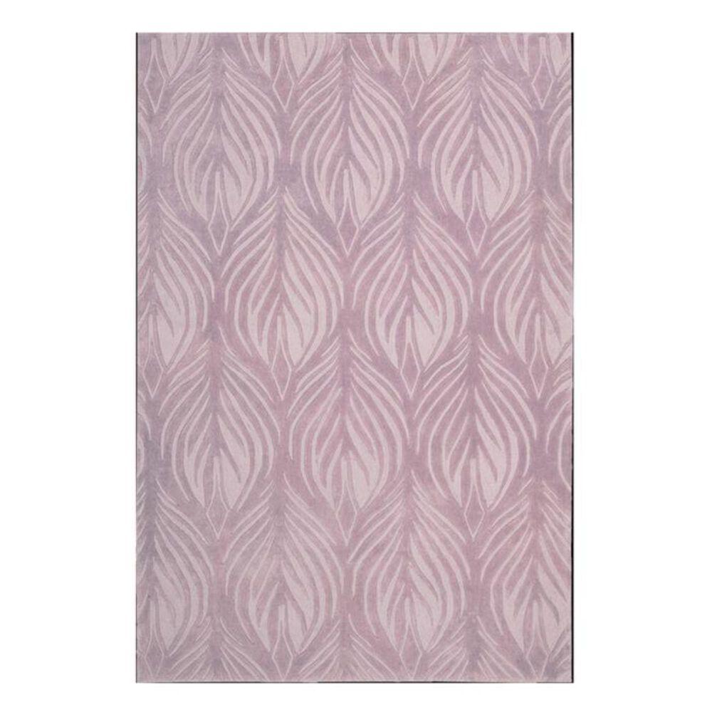 Nourison Contour CON06 5' x 7'6'' Lavender Area Rug, , large