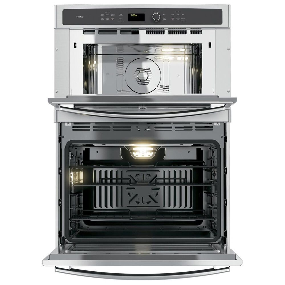"GE Profile 30"" Built-In Combination Convection Microwave/Convection Wall Oven, , large"