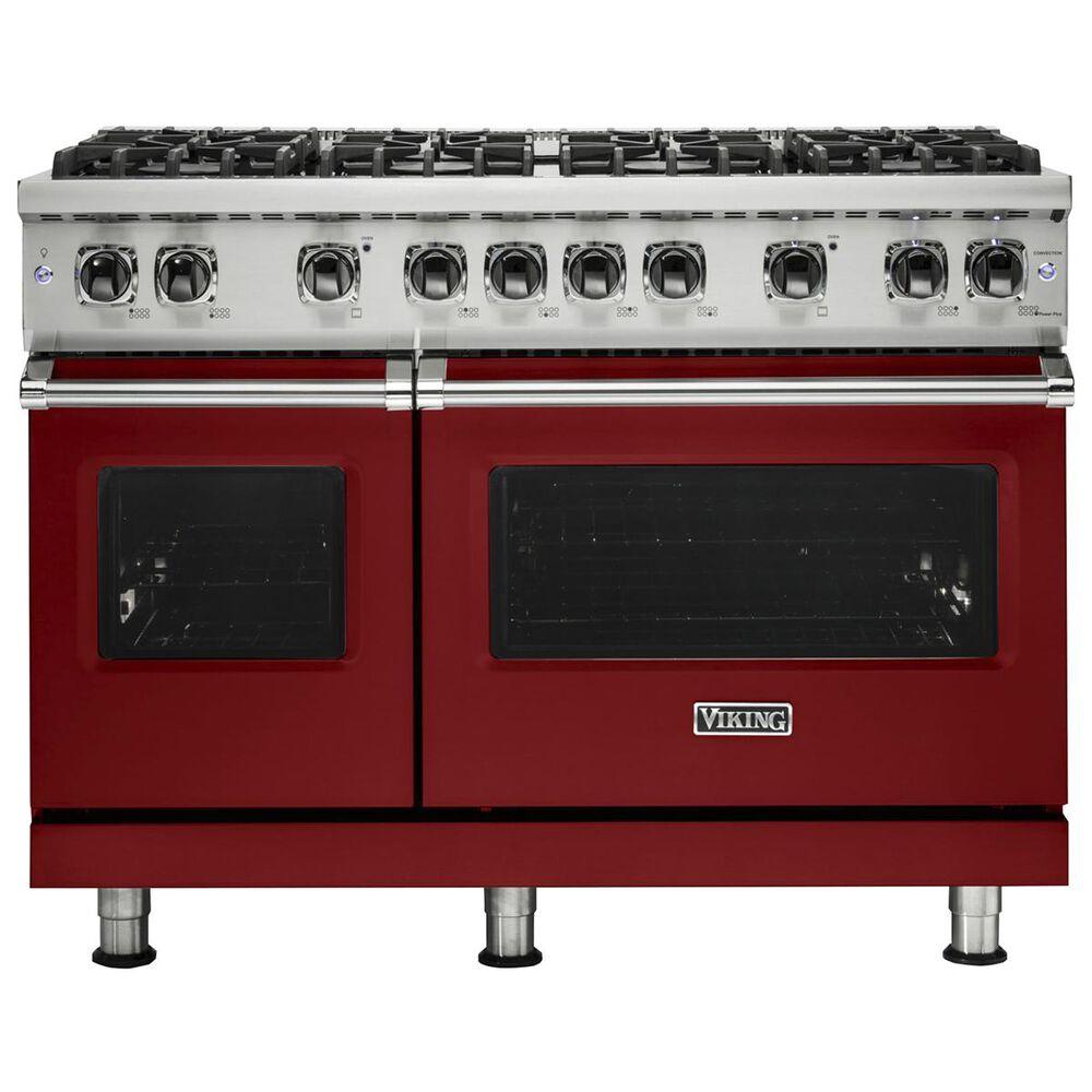 """Viking Range 48"""" Professional Gas Freestanding Range in Apple Red, , large"""