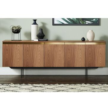 Joybird Ezra Sideboard in Walnut and Black , , large