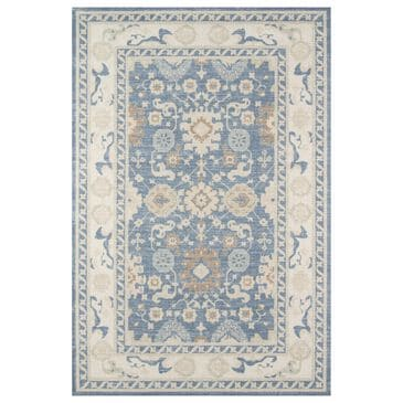 """Momeni Anatolia ANA-7 5'3"""" x 7'6"""" Light Blue Area Rug, , large"""