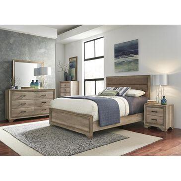 Belle Furnishings Sun Valley King Upholstered Bed in Sandstone, , large