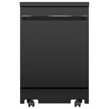 "GE Appliances 24"" Interior Portable Dishwasher in Black, , large"