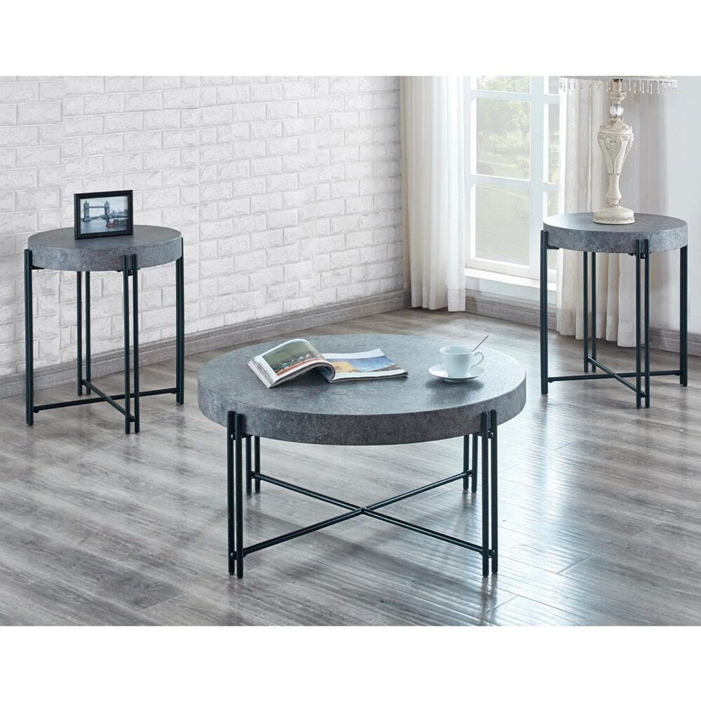 Crystal City Morgan Cocktail Table in Gray, , large