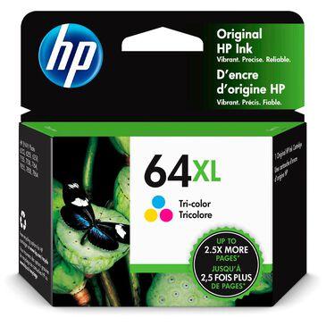HP 64XL High Yield Tri-color Original Ink Cartridge, , large
