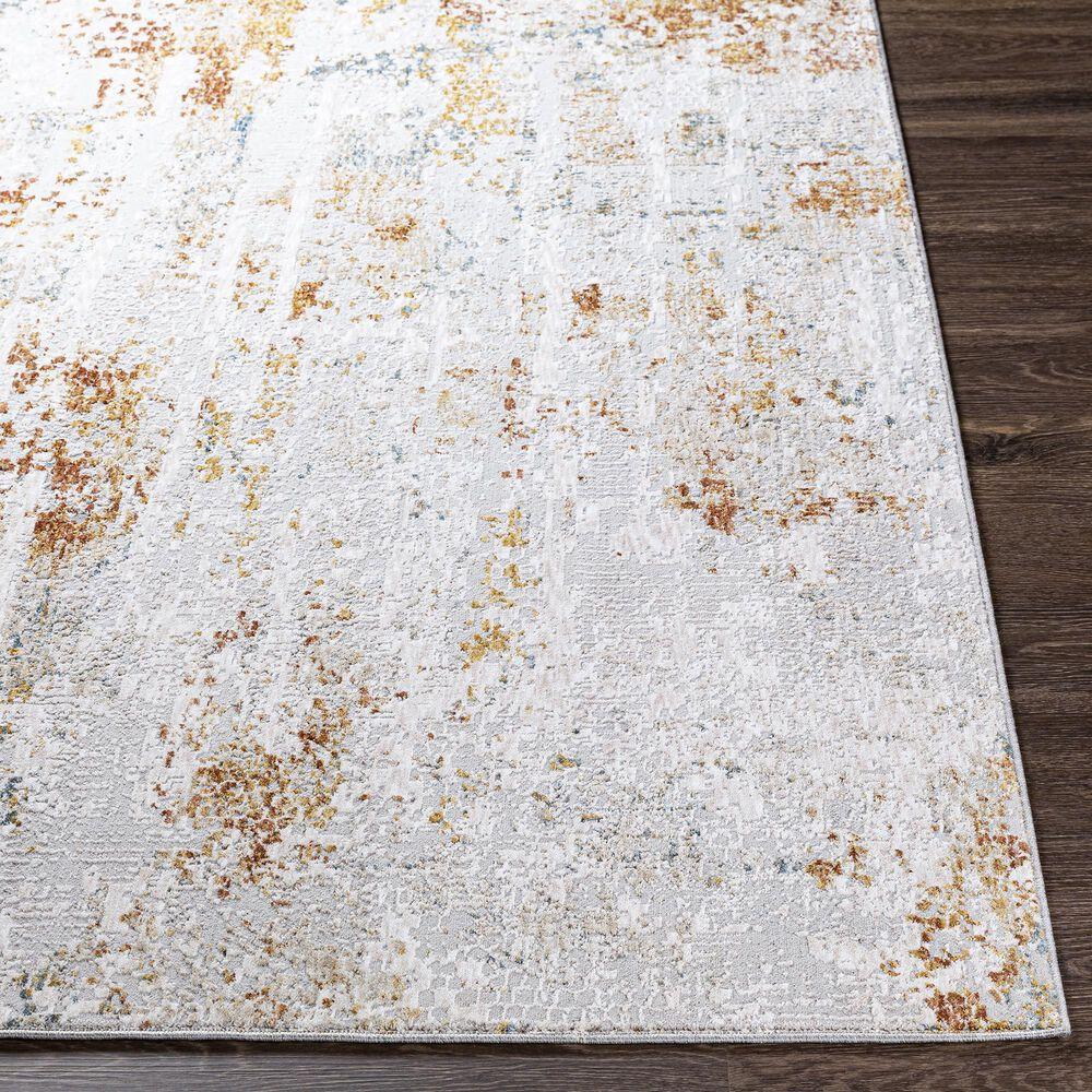 Surya Carmel 12' x 15' Camel, Clay, Mustard and Aqua Area Rug, , large