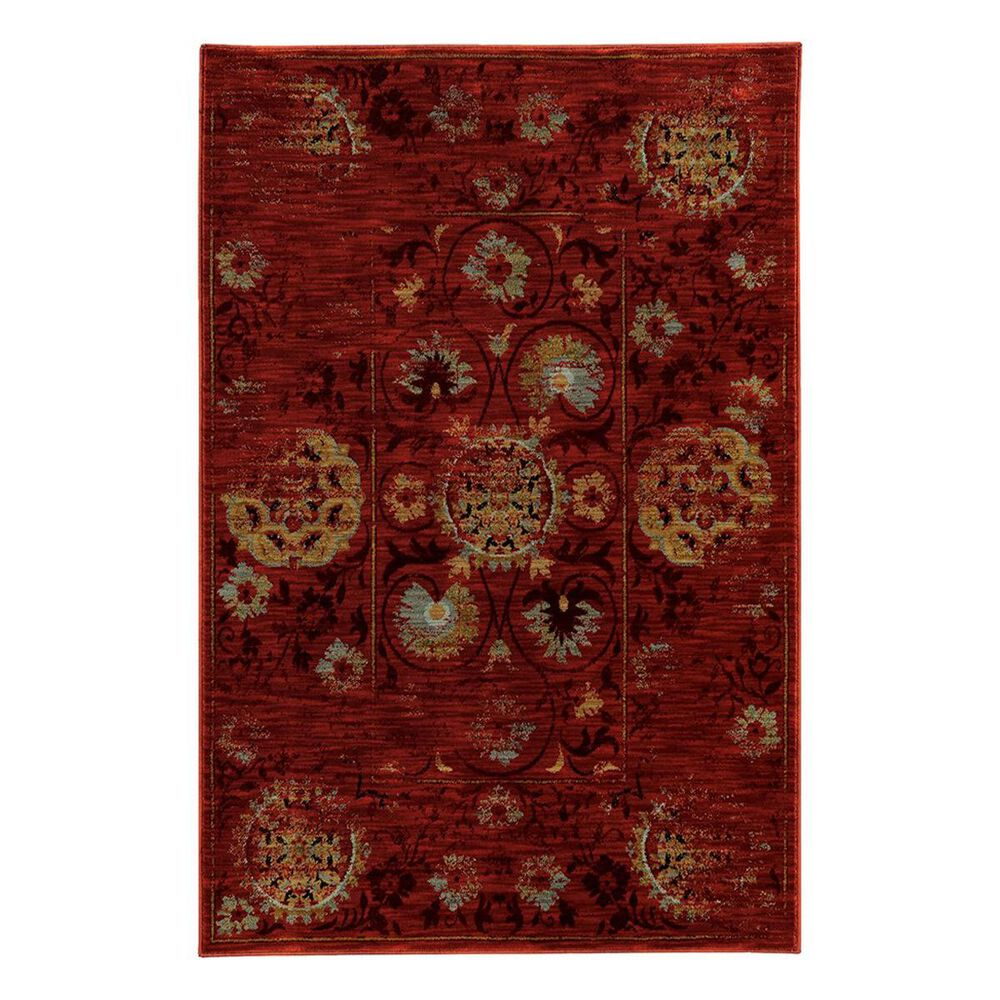 "Oriental Weavers Sedona 6386E 6'7"" x 9'1"" Blue Area Rug, , large"