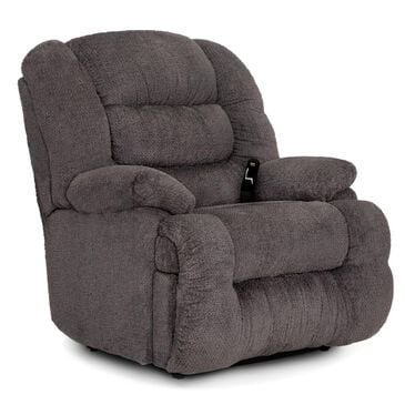 Moore Furniture Everest Oversized Power Rocker Recliner in Nucleus Cement, , large