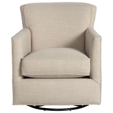 Dawson Lane New American Swivel Glider Accent Chair in Dove , , large