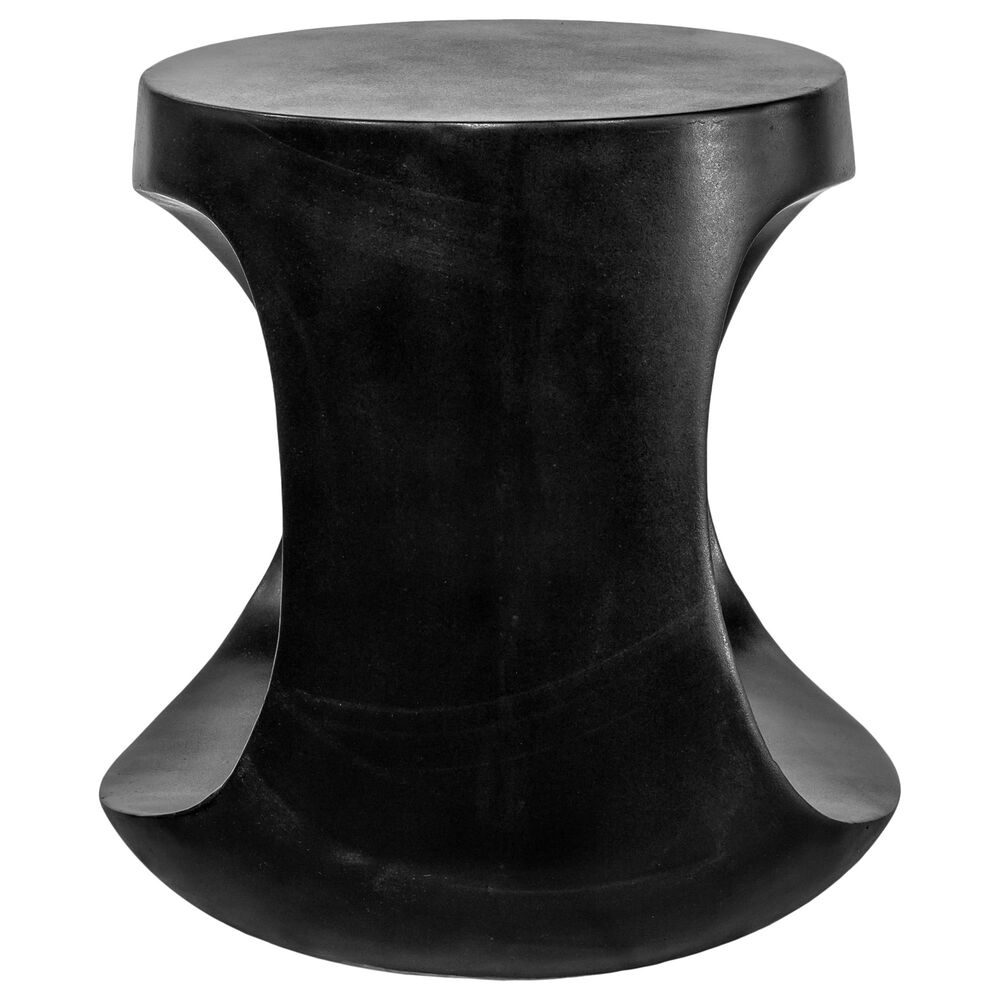 Moe's Home Collection Rothko Patio Stool in Black, , large