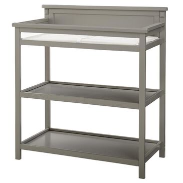 Eastern Shore Emery Changer with Shelf / Pad in Gray, , large
