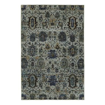 "Oriental Weavers Andorra 7120A 1'10"" x 3'2"" Blue Scatter Rug, , large"