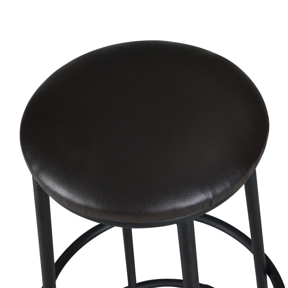 """Carolina Chair and Table Jamison 24"""" Counter Stool in Brown/Black, , large"""