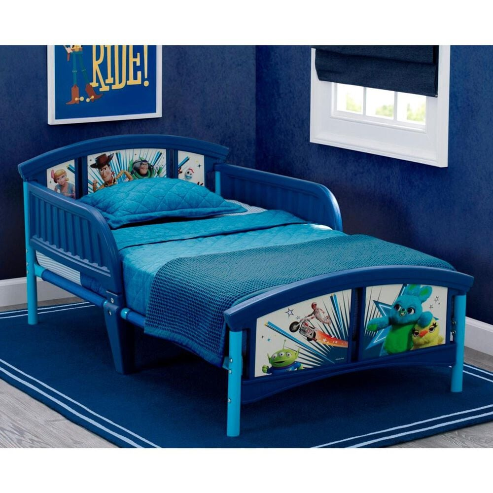 Delta Toy Story 4 Toddler Bed in Blue, , large