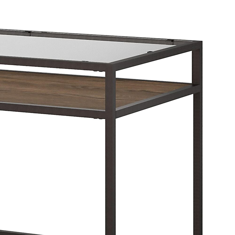 Bush Anthropology 2-Piece Office Desk Set in Rustic Brown, , large