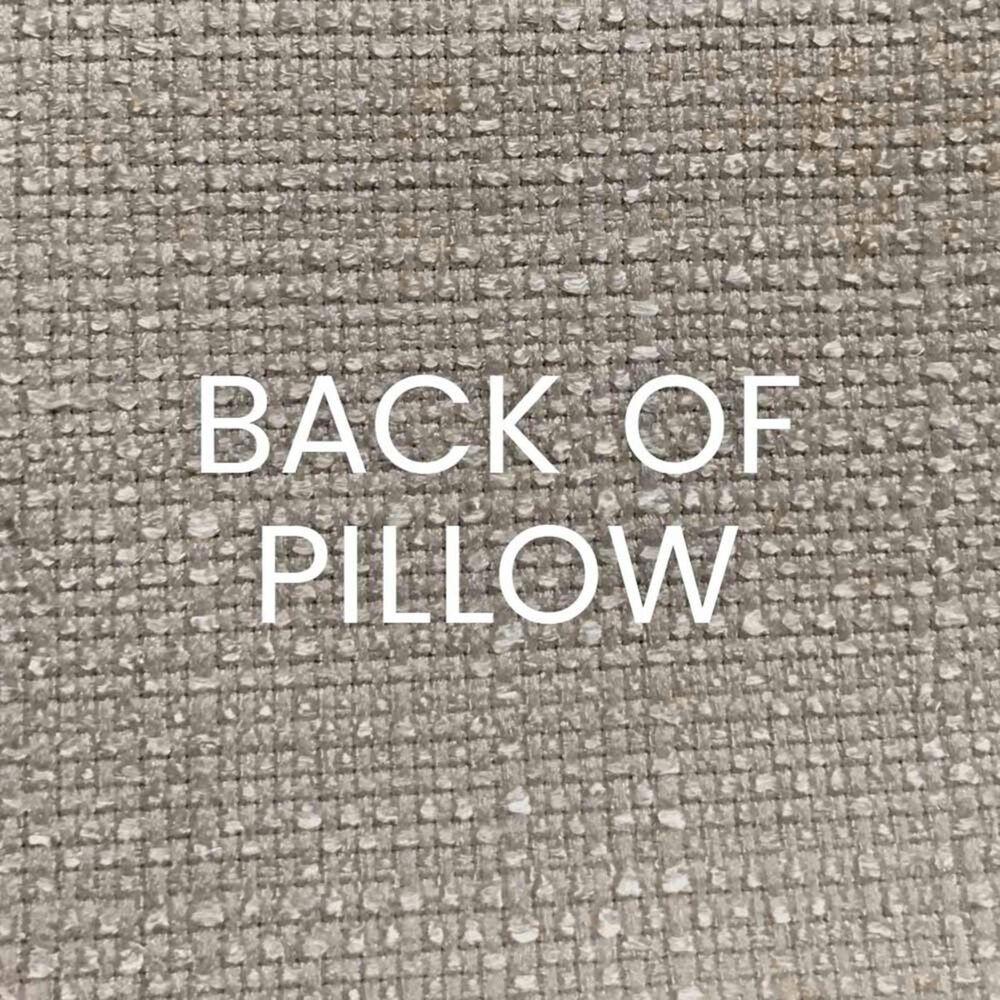 "D.V.Kap Inc 24"" Feather Down Decorative Throw Pillow in Posh Den-Natural, , large"