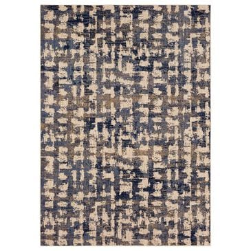 """Stacy Garcia Home Abydos 8"""" x 11"""" Periwinkle Area Rug, , large"""