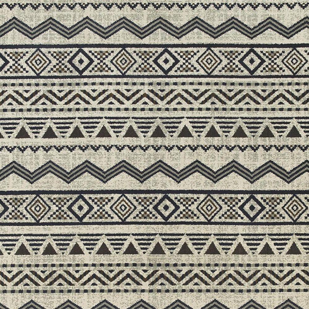 "Oriental Weavers Linden 7824A 3'10"" x 5'5"" Grey Area Rug, , large"
