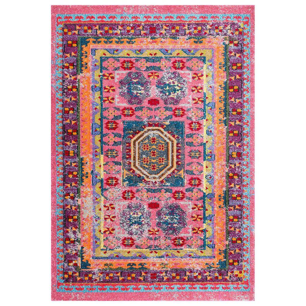 nuLOOM Bella KSBL01A 8' x 10' Multicolor Area Rug, , large
