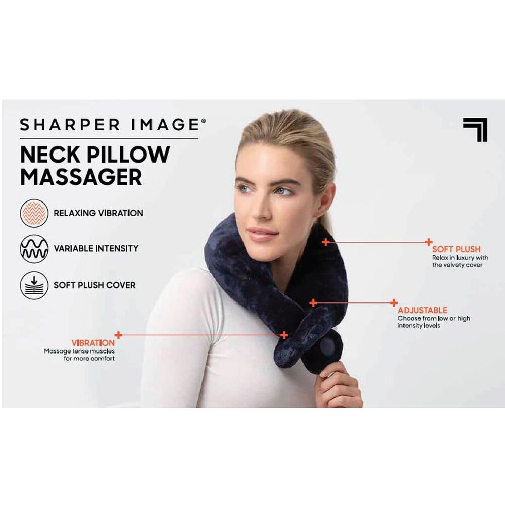 Sharper Image Neck Pillow Massager, , large