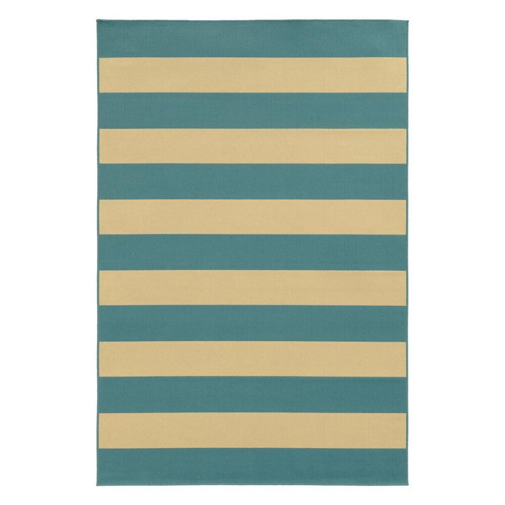 "Oriental Weavers Riviera 4768G 1""9"" x 3""9"" Blue Scatter Rug, , large"