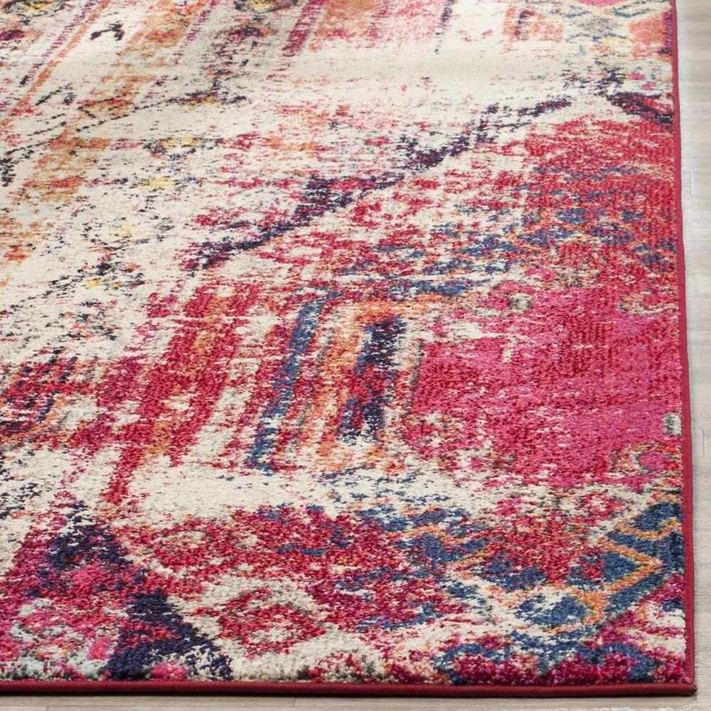 Safavieh Monaco MNC222D-1115 11' x 15' Magenta/Multi Area Rug, , large