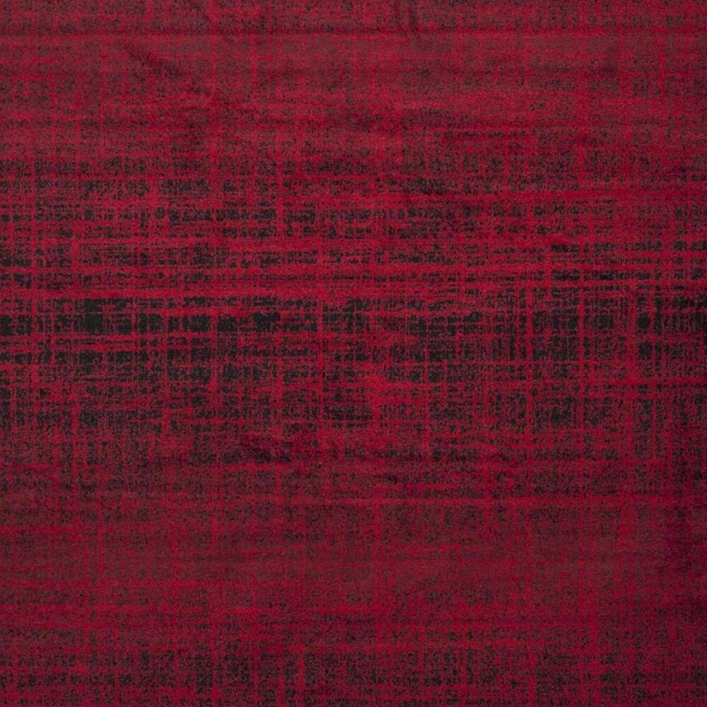 Safavieh Adirondack ADR116F 4' Round Red and Black Area Rug, , large