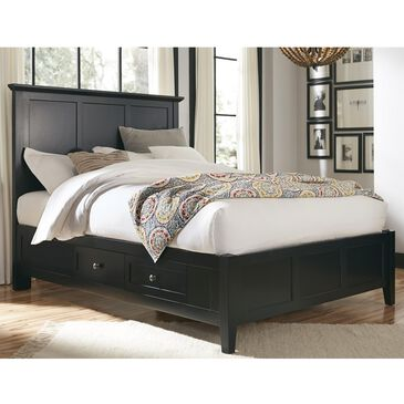 Urban Home Paragon Queen Storage Bed in Black, , large