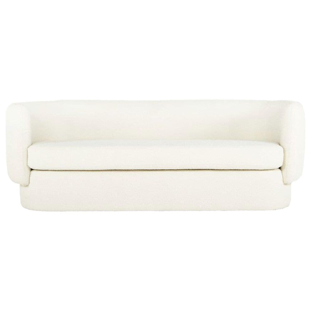 """Moe""""s Home Collection Koba Sofa in White, , large"""