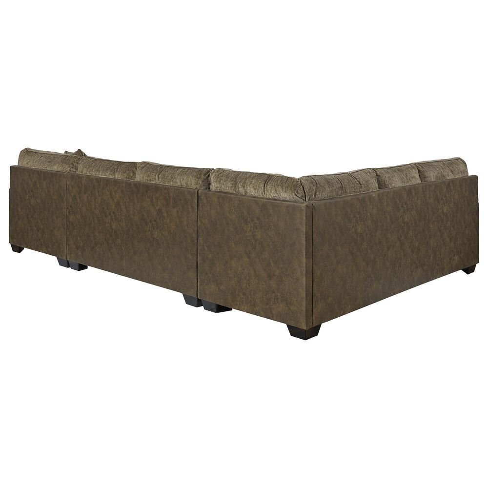 Signature Design by Ashley Abalone 3-Piece Sectional Set in Chocolate, , large
