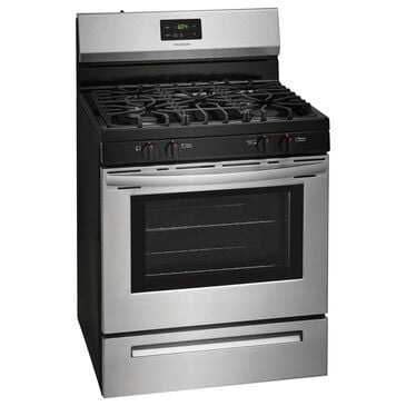 Frigidaire 30'' Gas Range with Even Baking Technology in Stainless Steel, , large