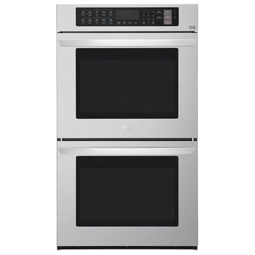 "LG 30"" Electric Double Wall Oven in Stainless Steel, , large"