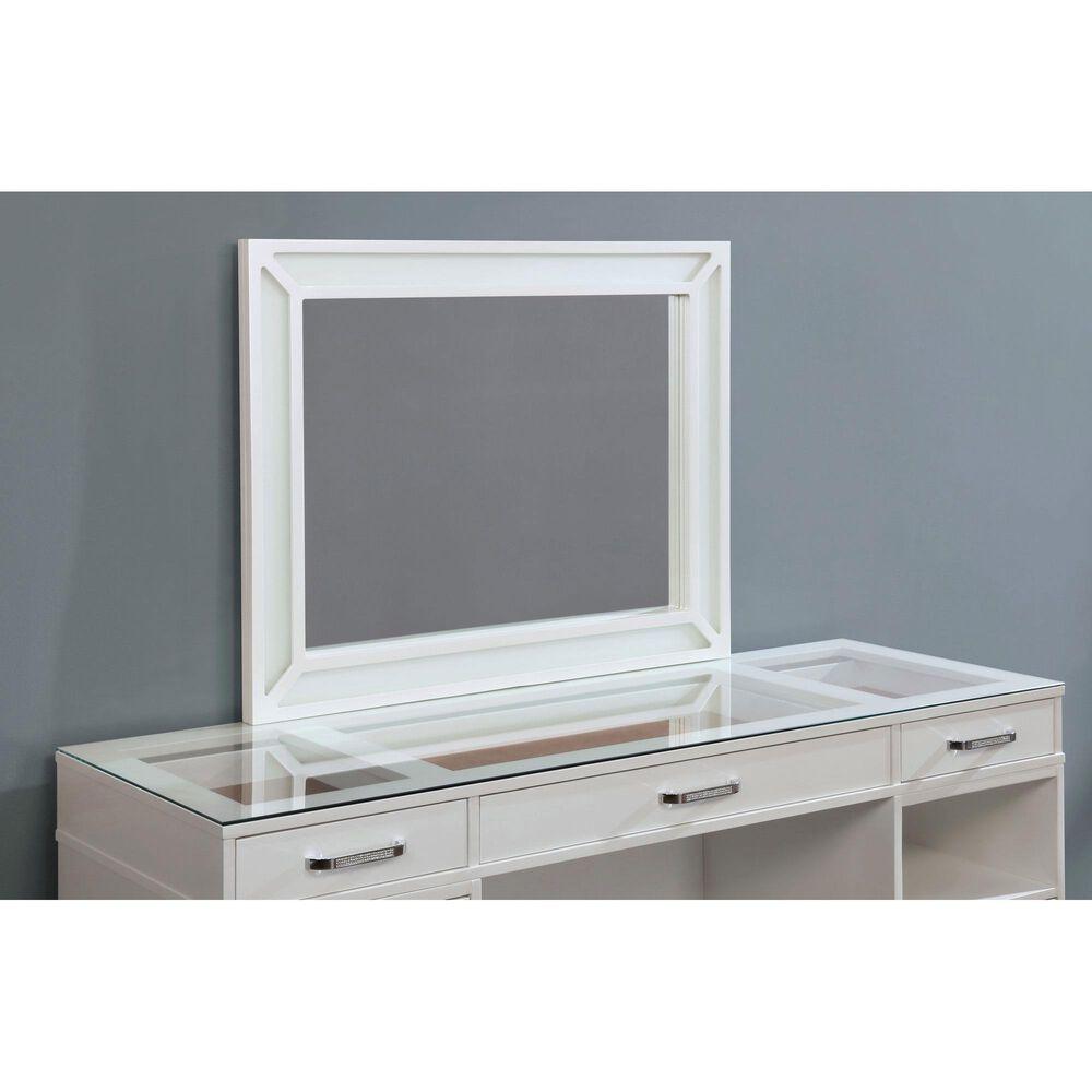 Furniture of America Hammond 3 Piece Vanity Set in Luminous White, , large