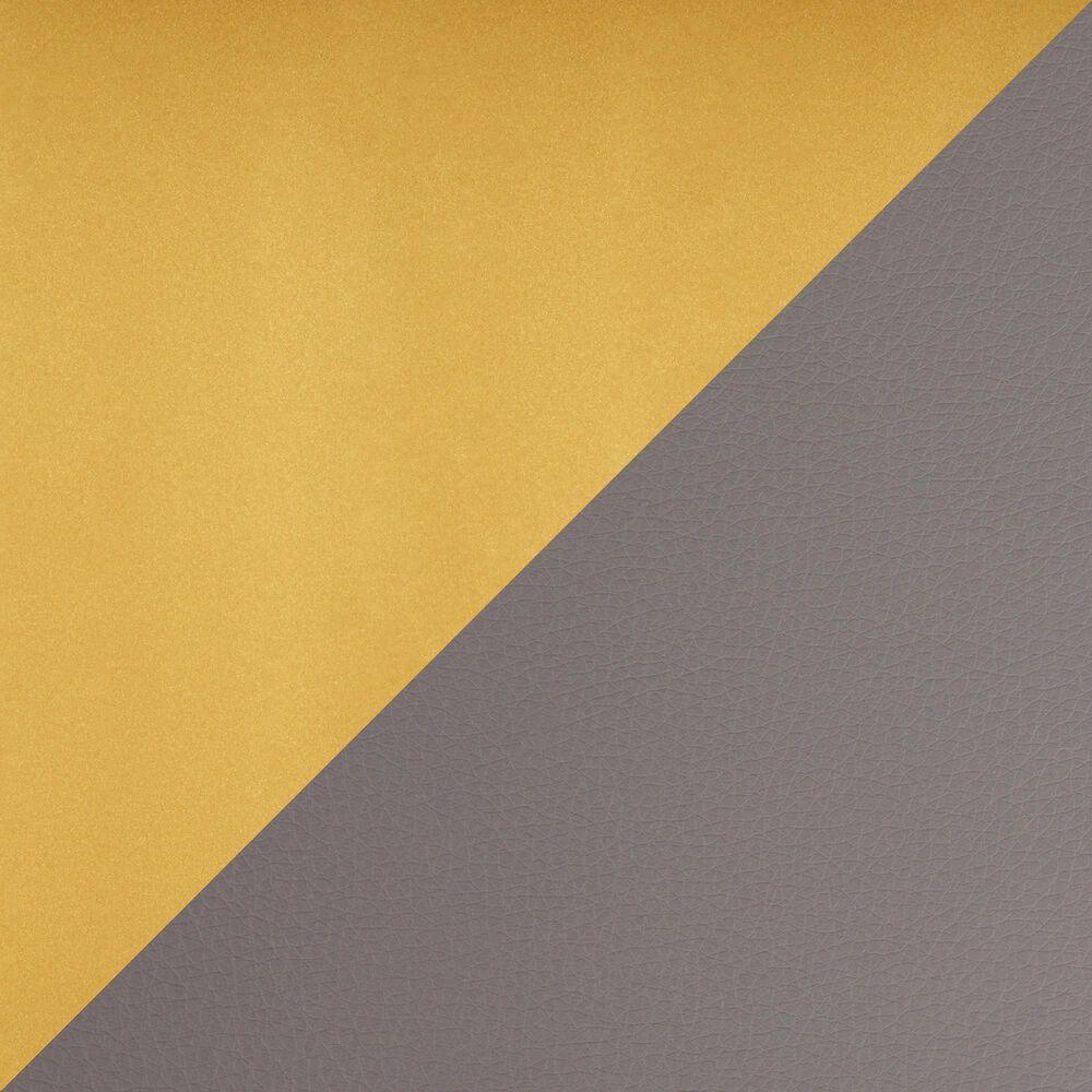 Lumisource Fuji Barstool in Grey/Gold (Set of 2), , large
