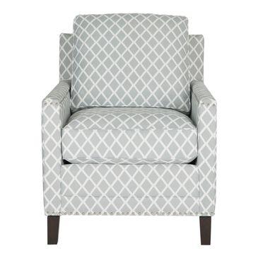 Safavieh Buckler Arm Chair in Grey/White, , large