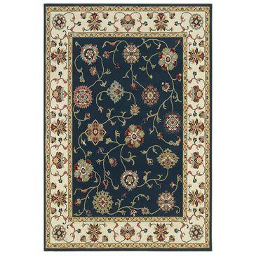 """Oriental Weavers Kashan 2336B 1'10"""" x 3' Navy Area Rug, , large"""