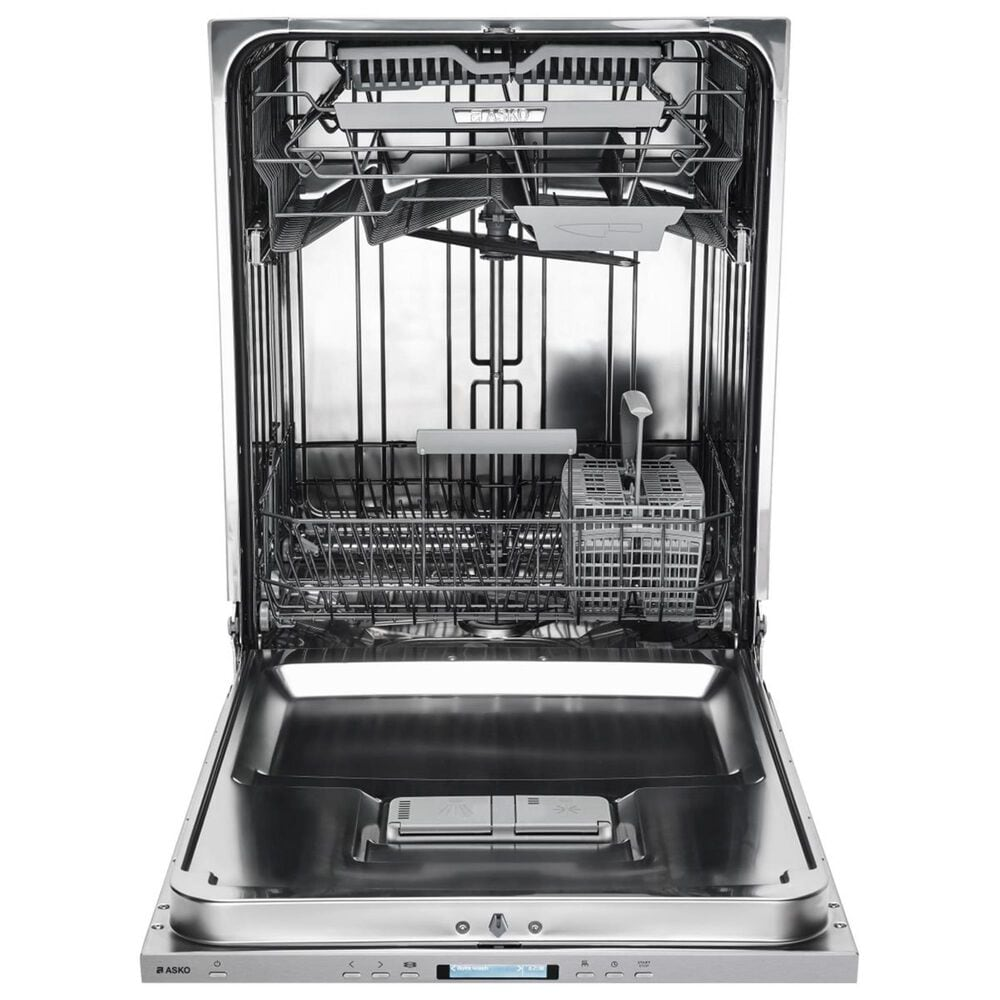 """Asko 24"""" Built-In Fully Integrated Dishwasher with Panel Ready Door, , large"""