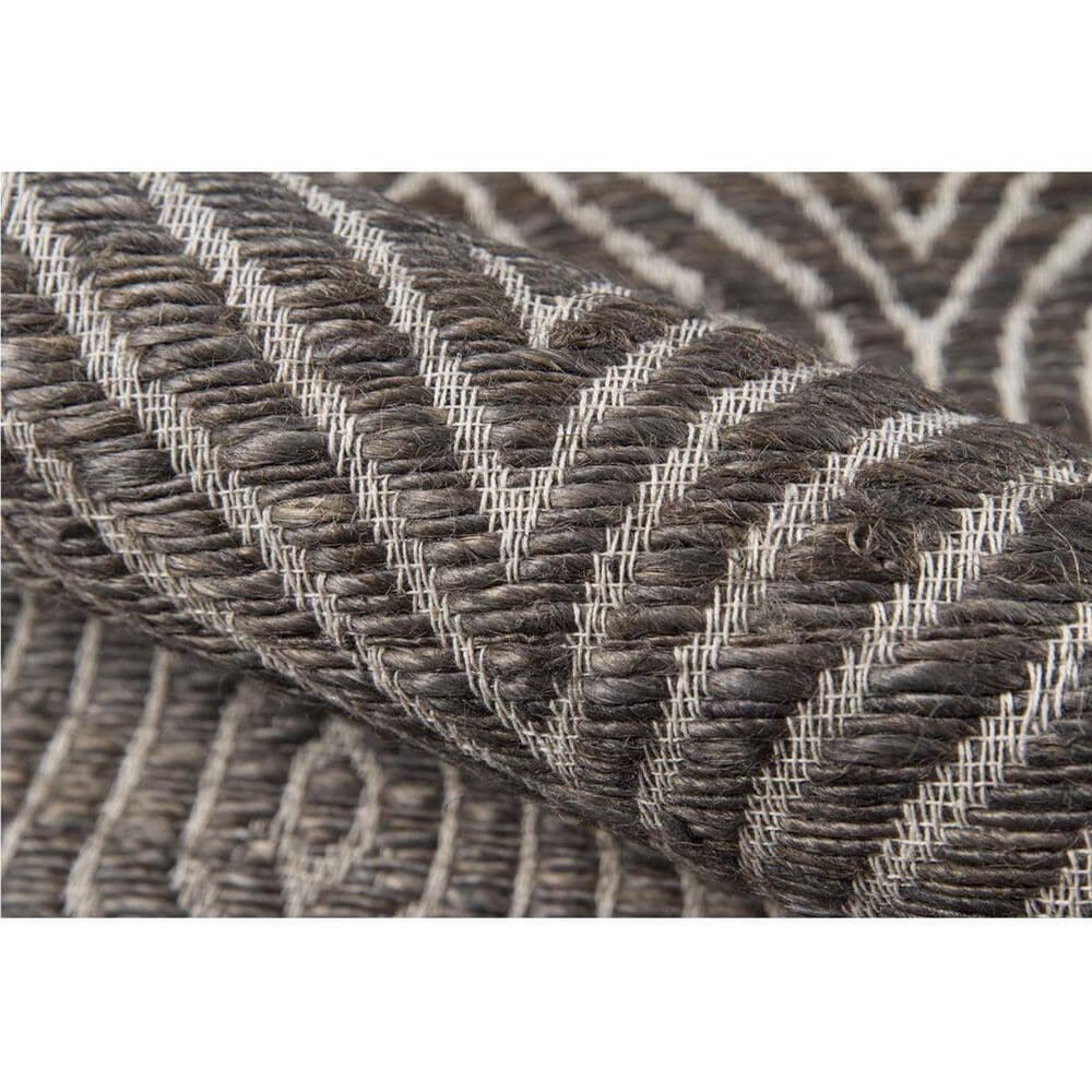 Momeni Bengal BEN-06 5' x 8' Charcoal Area Rug, , large