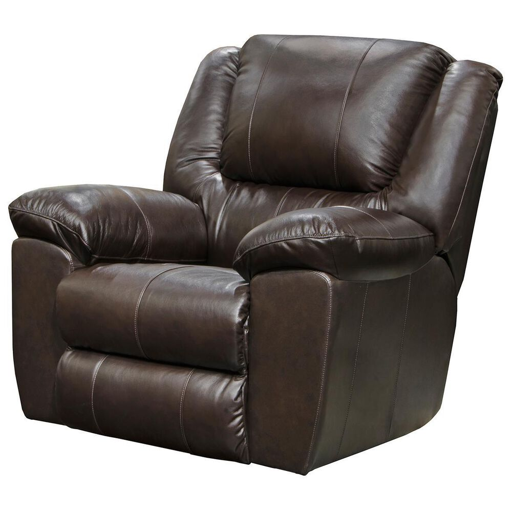 Hartsfield Transformer II Leather Power Wall Recliner in Chocolate, , large