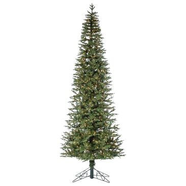 The Gerson Company Sterling 10' Natural Cut Narrow Jackson Pine with 950 UL White Lights, , large