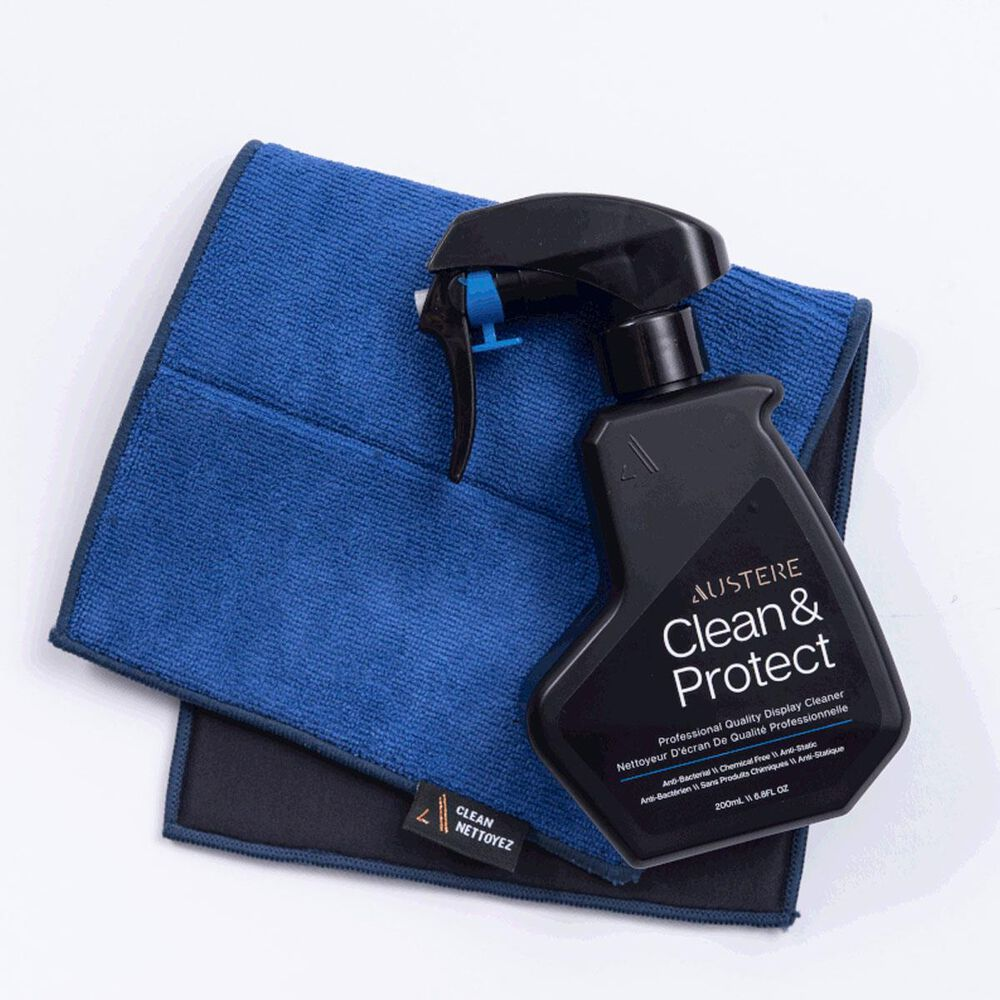 Austere III Series \\ Clean & Protect 200mL With Dual-Sided Cloth, , large