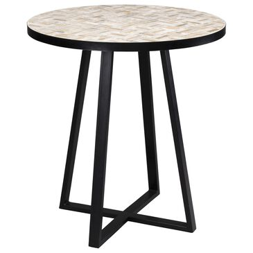Home Styles Panama 27.5 in Bistro Table in Brown, , large