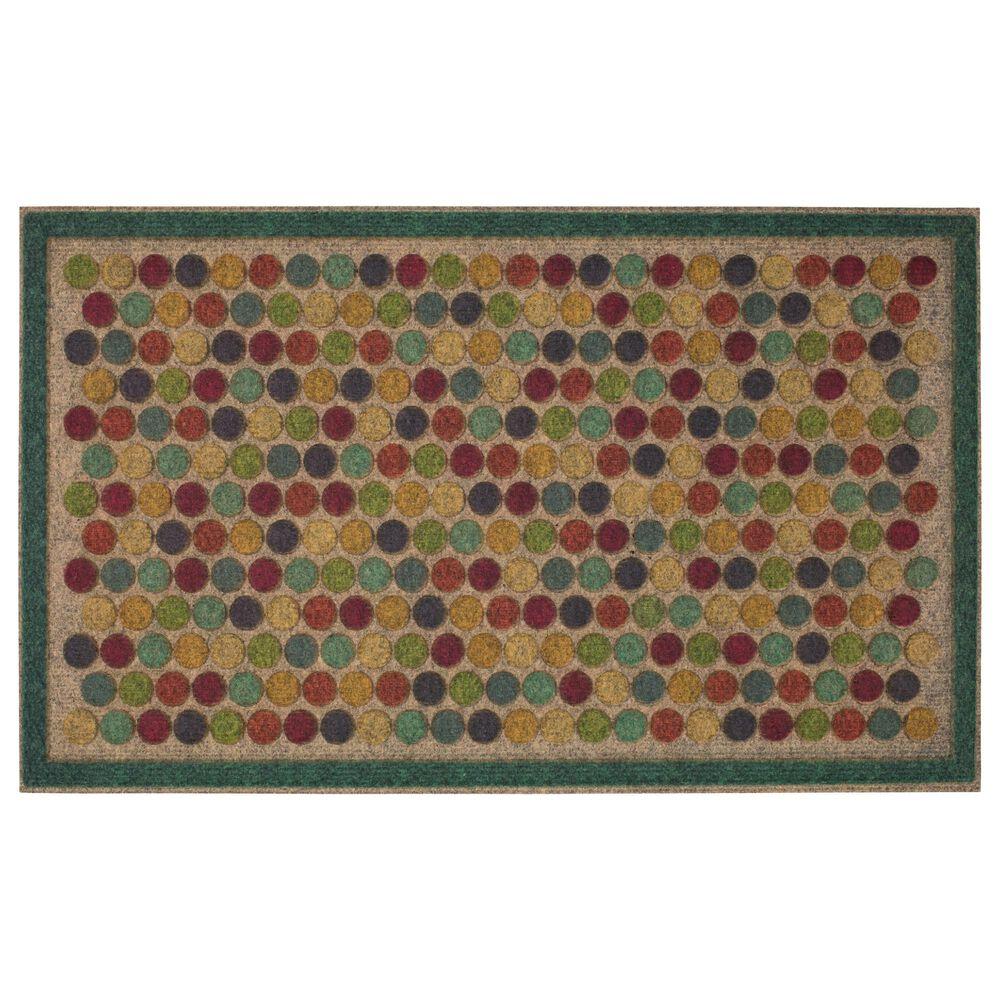 "Karastan Ornamental 1'6"" x 2'6"" Multicolor Area Rug, , large"