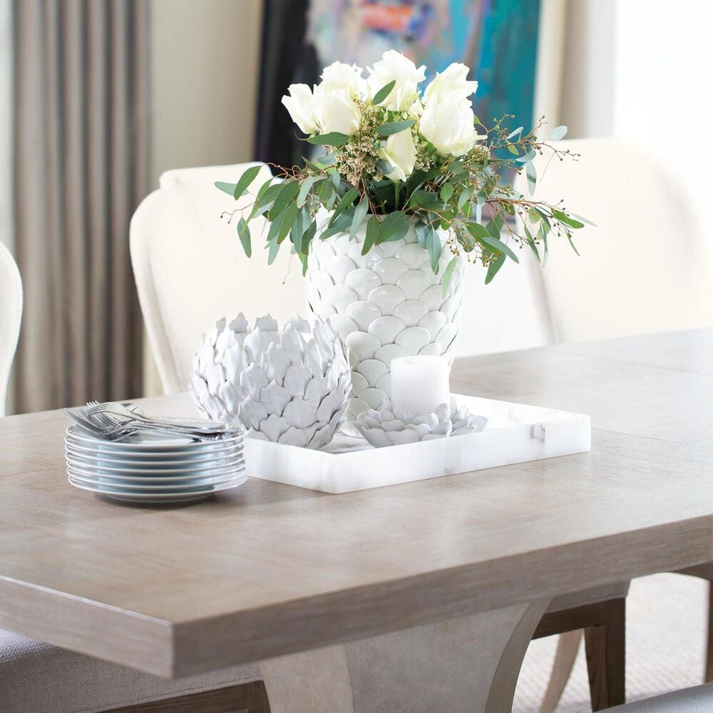 Bernhardt Santa Barbara Dining Table in Sandstone and Textured Cameo, , large