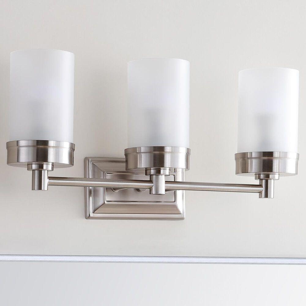 Safavieh Lucian 3-Light Bathroom Sconce in Nickel, , large