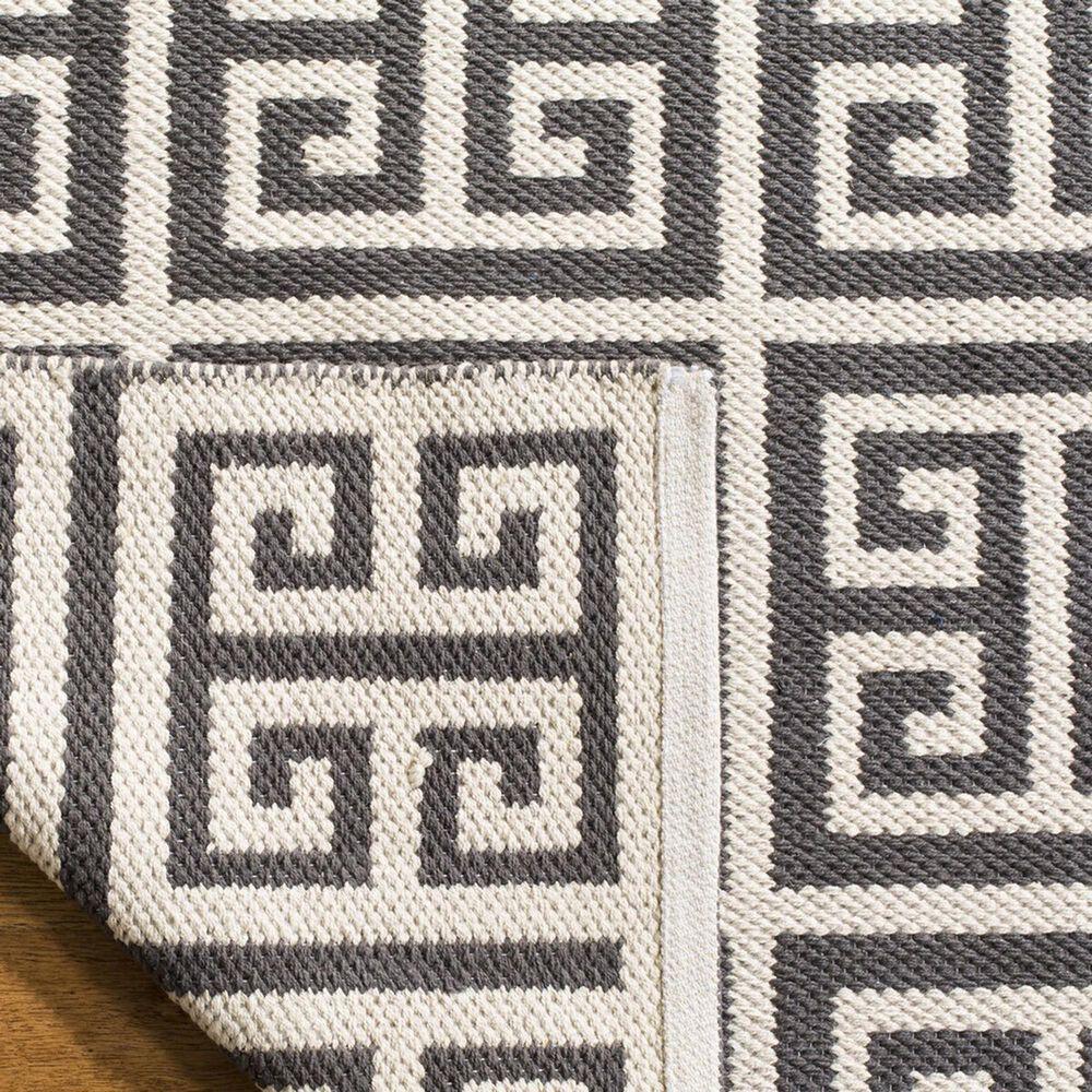 Safavieh Montauk  5' x 8' Dark Gray and Ivory Area Rug, , large