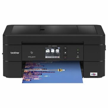 Brother Wireless Color Inkjet All-In-One Printer in Black, , large