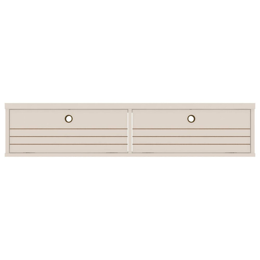 """Manhattan Liberty 42.28"""" Floating Entertainment Center in Off White, , large"""